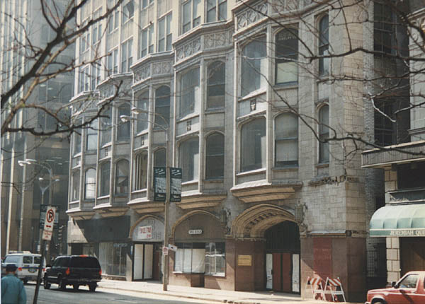 Modern Front Elevation : Built st louis crumbling landmarks arcade wright