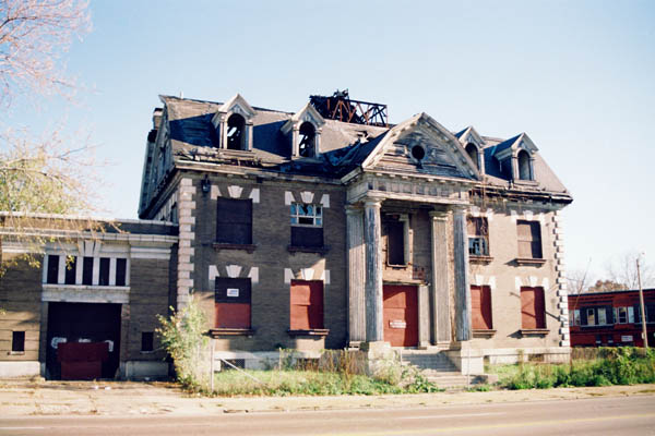 Built St Louis Vanished Buildings Page Police Station