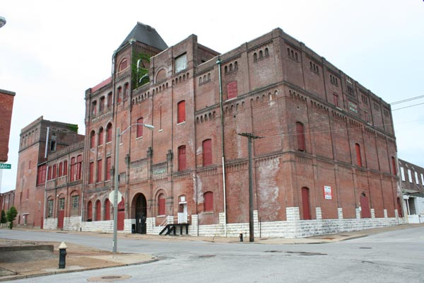 Built St. Louis   The Industrial City   Falstaff Brewery