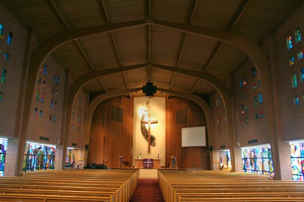 Built St Louis Mid Century Modern Grace Lutheran Chapel