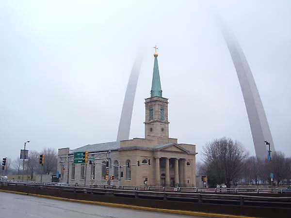 Built St Louis Historic Churches