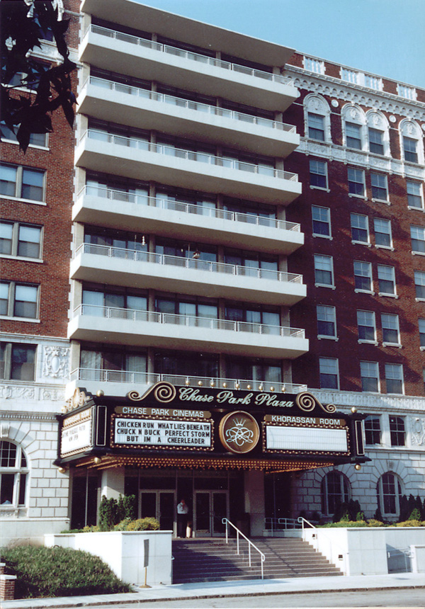 Built St Louis Recalled To Life Chase Hotel