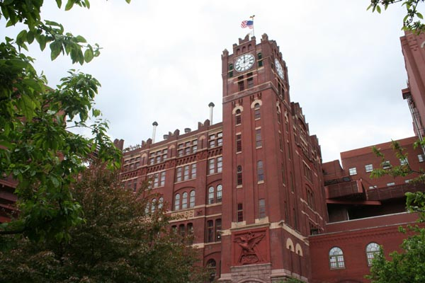 Built St Louis The Industrial City Anheuser Busch Brewery