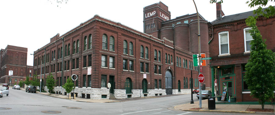 Built St Louis The Industrial City Lemp Brewery