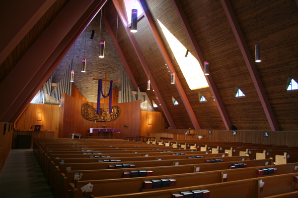 Built St Louis Mid Century Modern Grace Episcopal